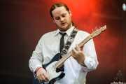John Paul Green, guitarrista y armonicista de The Cubical (Azkena Rock Festival, Vitoria-Gasteiz, 2010)