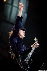 Angus Young, guitarrista de AC/DC, Estadio de San Mamés, Bilbao. 2010