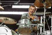 Mark Richardson, baterista de Skunk Anansie (Bilbao BBK Live, Bilbao, 2010)
