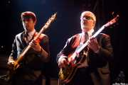 Daniel Segura -bajista- y Adrià Gual -guitarrista- de The Excitements, Joy Eslava, 2010
