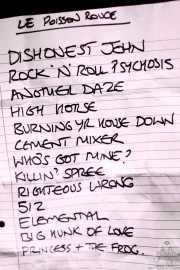 Setlist de The Jim Jones Revue (Le Poisson Rouge, Nueva York, 2010)