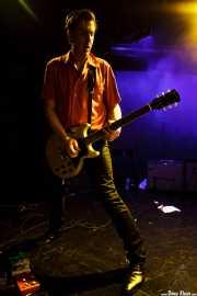 Rupert Orton, guitarrista de The Jim Jones Revue (Le Poisson Rouge, Nueva York, 2010)