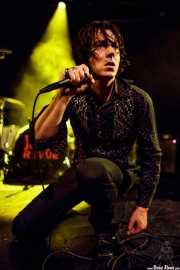 Jim Jones, cantante y guitarrista de The Jim Jones Revue (Le Poisson Rouge, Nueva York, 2010)