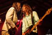 Jeff McDonald -voz y guitarra- y Steven McDonald -bajo y voz- de Redd Kross, Turborock, Sarón. 2010