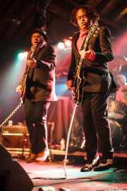 Kurt Bloch -guitarra-, Jim Sangster -bajo- y Tad Hutchison -batería- de Young Fresh Fellows (Turborock, Sarón, 2010)