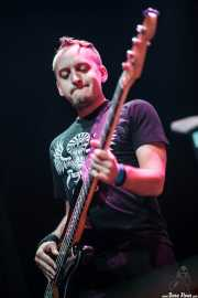 Justin Andres, bajista de The Bellrays, Kafe Antzokia, 2010