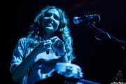 """Ana Molina """"Cheryl"""", teclista y acordeonista de Hola A Todo El Mundo (Santana 27, Bilbao, 2010)"""