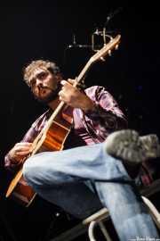 "Eneko ""MobyDick"" Burzako, cantante y guitarrista de MobyDick, Bilborock, Bilbao. 2010"