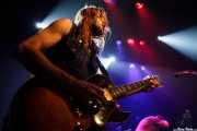 """Kerman Álvarez """"Perru"""", guitarrista de The Riff Truckers (Bilborock, Bilbao, 2010)"""