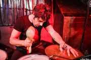 Carlos Jimena, baterista de Guadalupe Plata (18/12/2010)