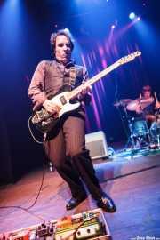 Joseba Irazoki -guitarra- y Natxo Beltrán -batería- de Atom Rhumba (Kafe Antzokia, Bilbao, 2010)