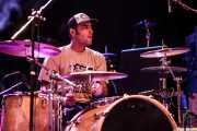 Javi Caballero, baterista de Jukebox Racket (Kafe Antzokia, Bilbao, 2011)