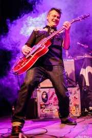 Carlos Beltrán, guitarrista de Jukebox Racket (Kafe Antzokia, Bilbao, 2011)