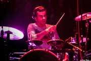 Igor Imaz, baterista de Mamba Beat, Kafe Antzokia, Bilbao. 2011