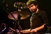 David Martínez, baterista de Maika Makovski, Kafe Antzokia, Bilbao. 2011