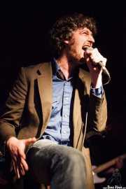Dan Wilson, cantante y guitarrista de The Cubical (Sala Azkena, Bilbao, 2011)