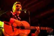 Santiago Delgado, cantante y guitarrista de Santiago Delgado y los Runaway Lovers, Santana 27, Bilbao. 2011