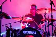 Txefo K-Billy, baterista de The Cherry Boppers (Santana 27, Bilbao, 2011)
