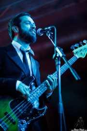 Lander Macho, bajista de The Cherry Boppers (Santana 27, Bilbao, 2011)