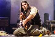 Xixo Yantani, guitarrista de The Cherry Boppers (Santana 27, Bilbao, 2011)