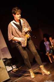 Josu Urkidi, saxofonista invitado de Cápsula