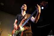 Lander Moya, bajista de Sonic Trash, Sala Cúpula (Teatro Campos Elíseos), Bilbao. 2011