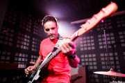 Jordi Porras, bajista de The Longboards (Biribay Jazz Club, Logroño, 2011)