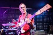 Ander Bada -batería- y Alfredo Romero -guitarra- de The Longboards (Biribay Jazz Club, Logroño, 2011)