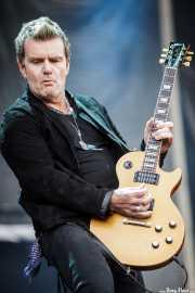 Billy Duffy, guitarrista de The Cult (Azkena Rock Festival, Vitoria-Gasteiz, 2011)