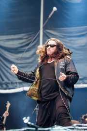 Ian Astbury, cantante de The Cult (Azkena Rock Festival, Vitoria-Gasteiz, 2011)