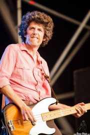 Cabezafuego, bajista y teclista de Atom Rhumba (Azkena Rock Festival, Vitoria-Gasteiz, 2011)