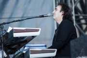"""Phil """"Magic"""" Cristian, teclista en gira de Cheap Trick (Azkena Rock Festival, Vitoria-Gasteiz, 2011)"""