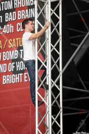 Eric Davidson, cantante de New Bomb Turks (Azkena Rock Festival, Vitoria-Gasteiz, 2011)