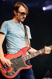 Bill Reynolds, bajista de Band of Horses, Azkena Rock Festival, 2011