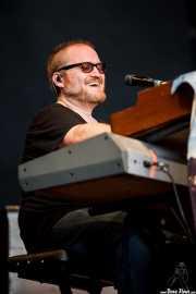 Ryan Monroe, teclista y guitarrista de Band of Horses, Azkena Rock Festival, 2011
