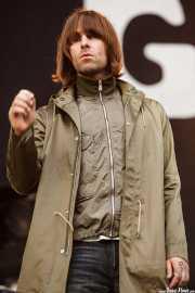 Liam Gallagher, cantante de Beady Eye (Bilbao BBK Live, Bilbao, 2011)