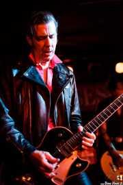 Rupert Orton, guitarrista de The Jim Jones Revue (The Horseshoe Tavern, Toronto, 2011)