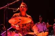 Bobby Trimble, baterista de The Ugly Beats, Kafe Antzokia. 2011