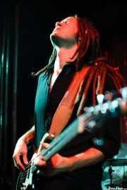 David Supica, bajista de The Delta Saints, El Balcón de la Lola, Bilbao. 2011