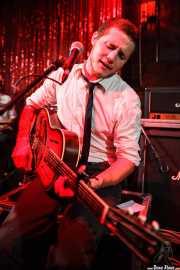 Ben Ringel, cantante y guitarrista de The Delta Saints, El Balcón de la Lola, Bilbao. 2011