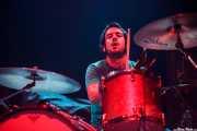 Andoni Ortiz, baterista de The Soulbreaker Company (Kafe Antzokia, Bilbao, 2011)