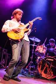 Jeff Massey -voz y guitarra- y Joe Winters -batería- de The Steepwater Band (Kafe Antzokia, Bilbao, 2011)