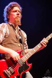 Tod Bowers, bajista de The Steepwater Band (Kafe Antzokia, Bilbao, 2011)
