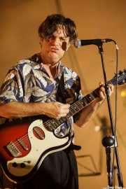 Dexter Romweber, cantante y guitarrista de Dexter Romweber Duo (Barreiro Rocks, Barreiro, 2011)