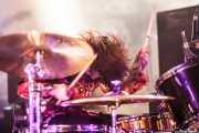 Sara Romweber, baterista de Dexter Romweber Duo (Barreiro Rocks, Barreiro, 2011)