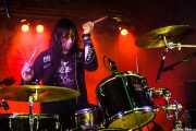 Kelly Halliburton, baterista de Pierced Arrows, Barreiro Rocks. 2011