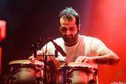 Alain Diez Merino, percusionista invitado de Zodiacs, Bilbao. 2012