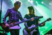 Fino Oyonarte -bajista- y Manolo Benítez -guitarrista- de Los Enemigos, Festival Actual, 2012