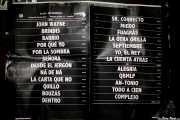 Setlist de Los Enemigos, Festival Actual, 2012