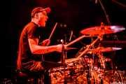 Javi Caballero, baterista de Jukebox Racket (Santana 27, Bilbao, 2012)